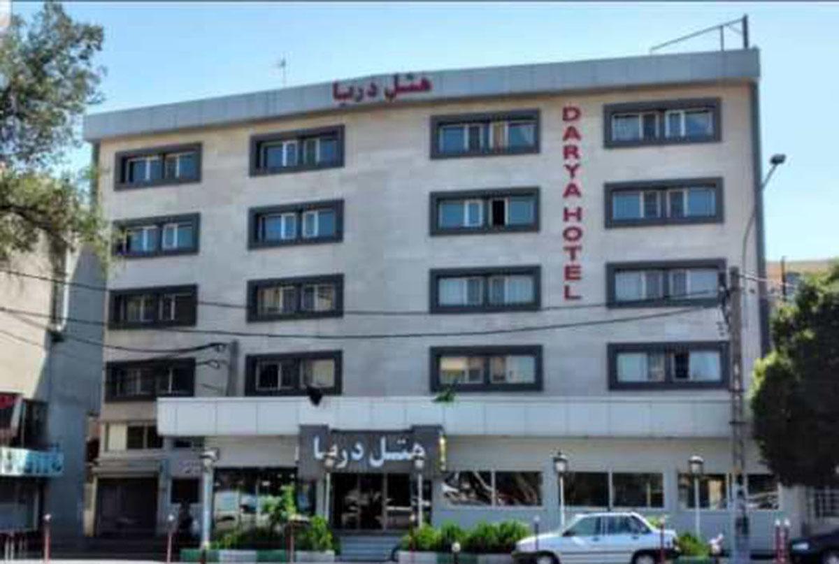 نمای بیرونی هتل دریا تبریز