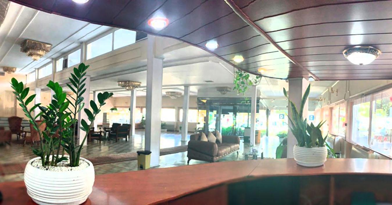 لابی هتل دریا تبریز